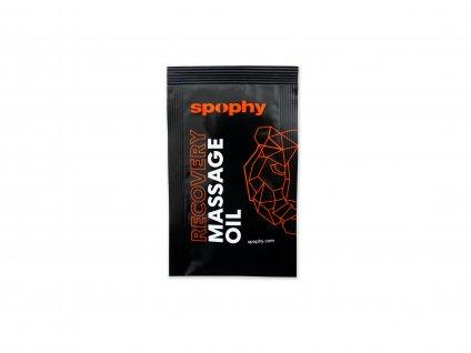Spophy Recovery Massage Oil - vzorek, 4 ml