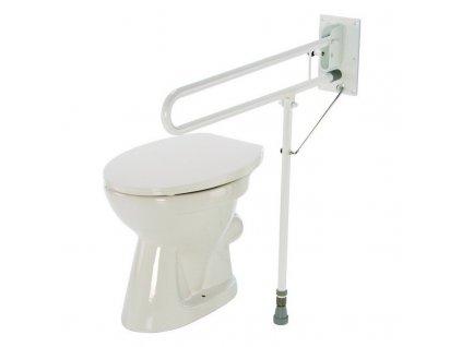 Madlo k WC sklopné s nohou, 4231