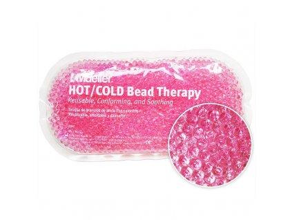 Mueller Hot / Cold Bead - Chladivý / hřejivý sáček s gelovými perličkami - růžový