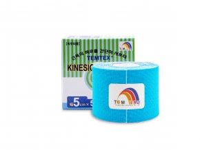 TEMTEX kinesio tape Classic, modrá tejpovacia páska 5cm x 5m