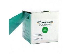 Thera-Band posilovací guma 45,5 m, zelená, silná