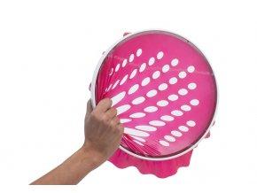 Thera-Band Pro Hand Trainer, latexové pláty 6 ks, červené
