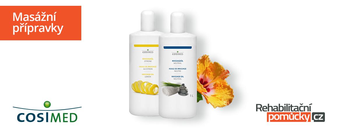 Masážní přípravky a wellness produkty cosiMed