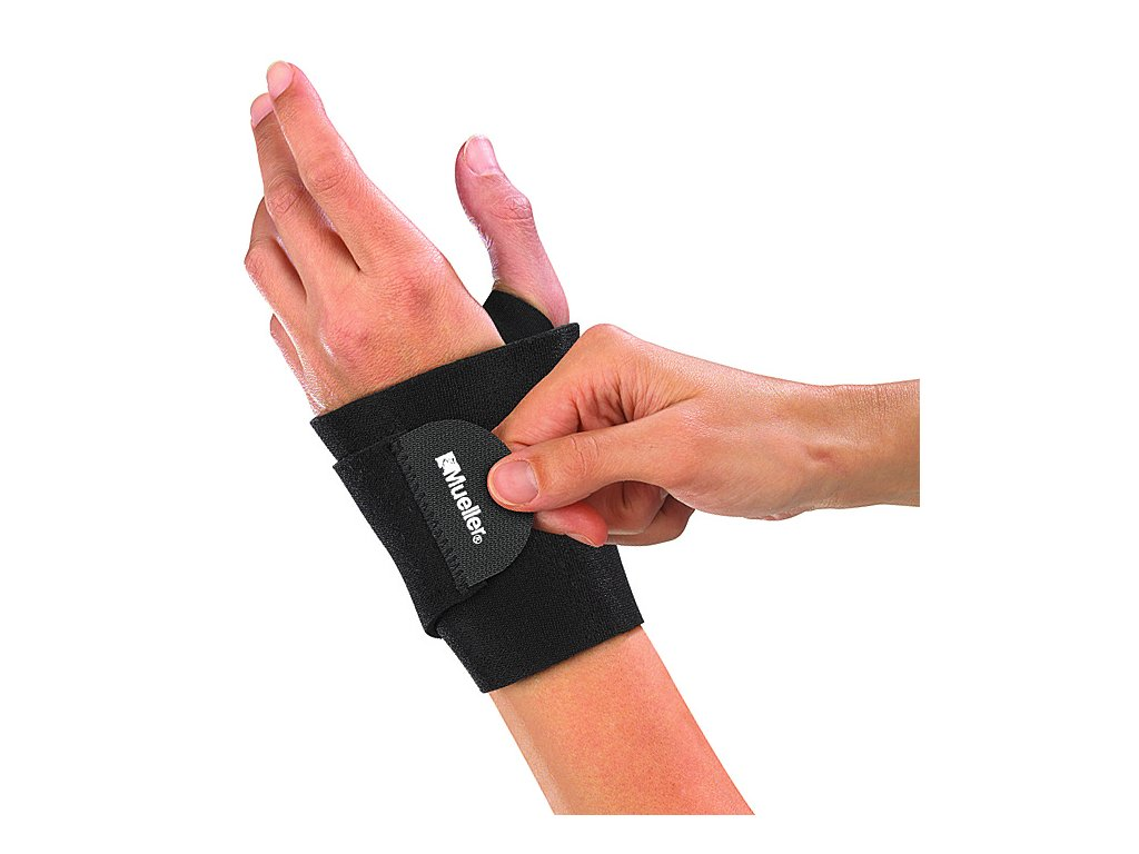 Mueller Wraparound Wrist Support, bandáž na zápěstí