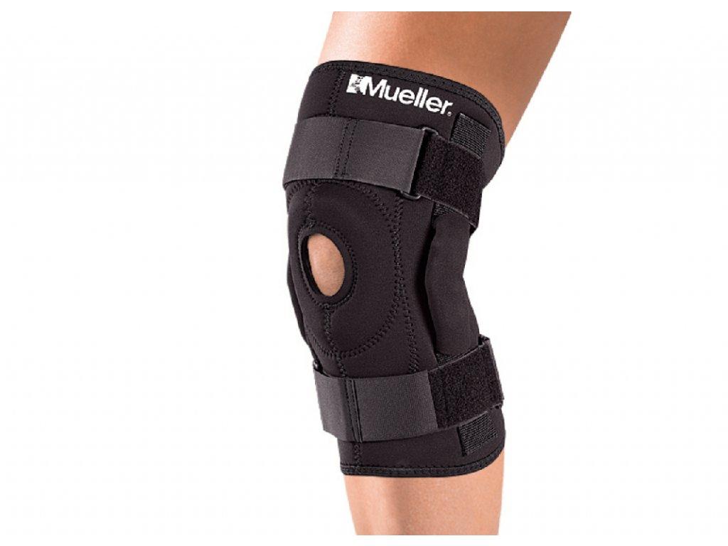 Mueller Hinged Knee Brace, ortéza na koleno s kloubem, natahovací
