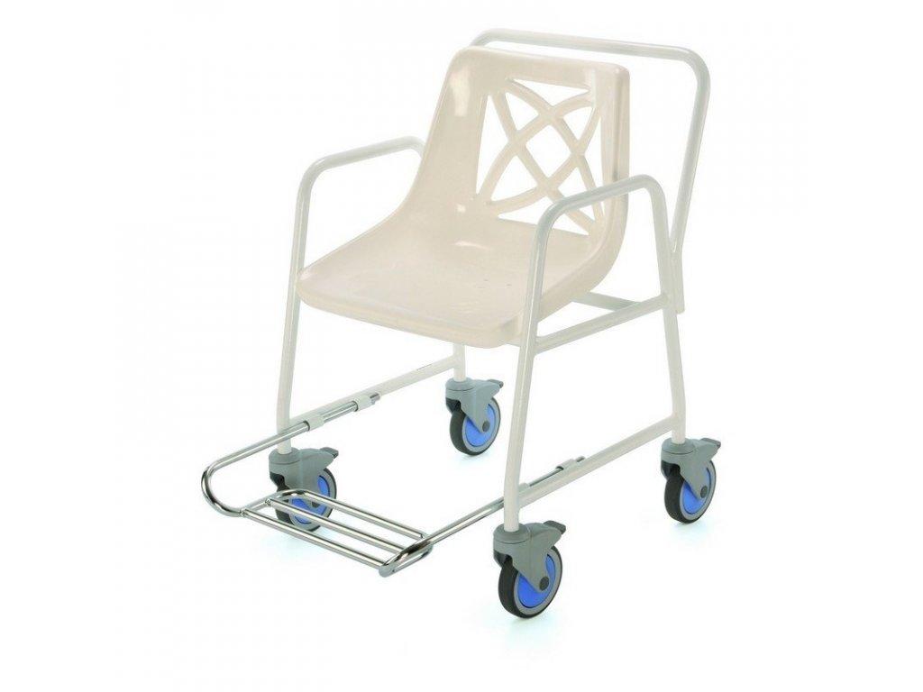 Židle do sprchy pojízdná, 4550 FR