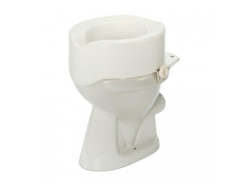 Nástavec na WC 15 cm s fixací, 4976