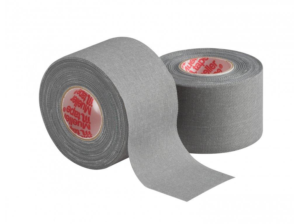 Mueller MTape® Team Colors, fixační tejpovací páska 3,8cm, šedá