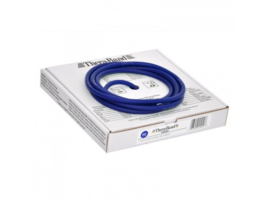 Thera-Band Tubing 7,5 m, modrá, extra silná
