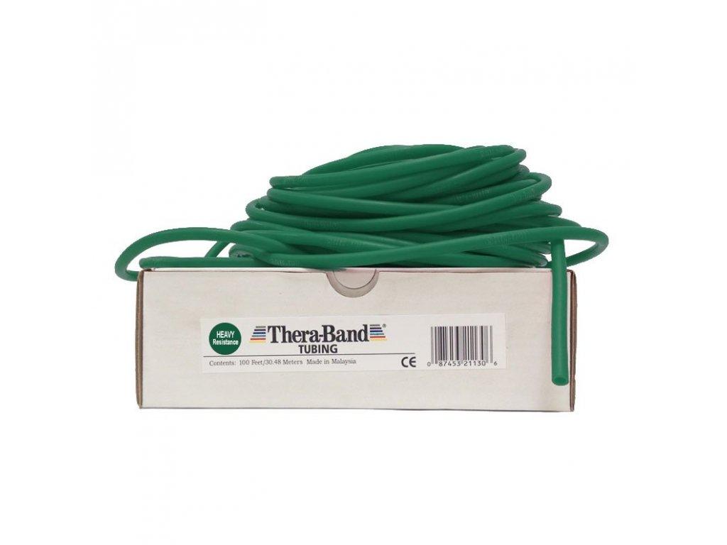 Thera-Band Tubing 30,5 m, zelená, silná