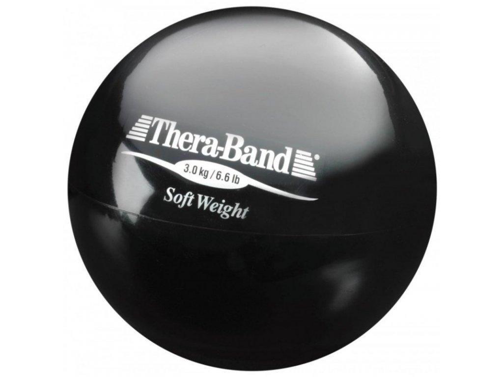 Thera-Band Medicinbal 3 kg, černý  + Dárek dle vašeho výběru