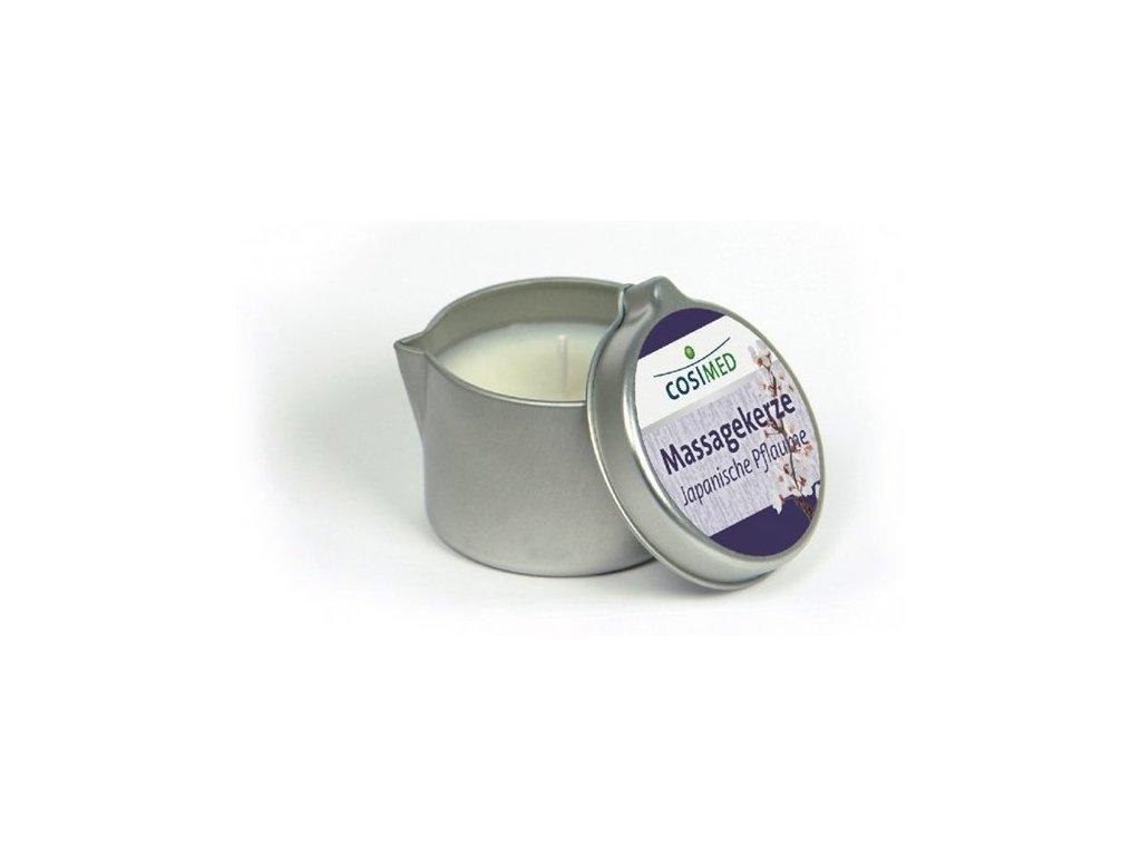 cosiMed masážní svíčka Japonská švestka - 40 g