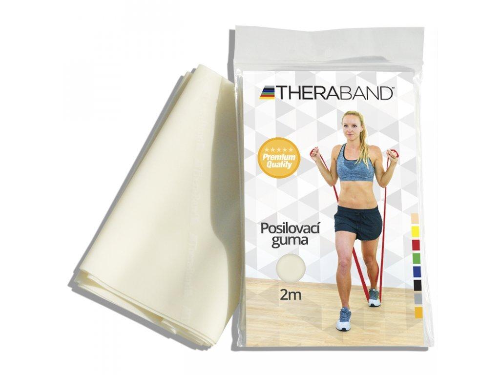 Thera-Band posilovací guma 2 m, béžová, velmi slabá