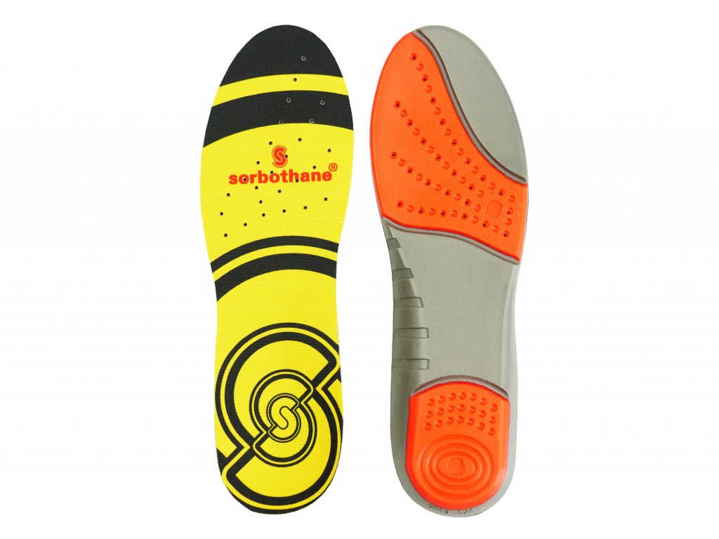Sorbothane Double Strike, gelové vložky do bot
