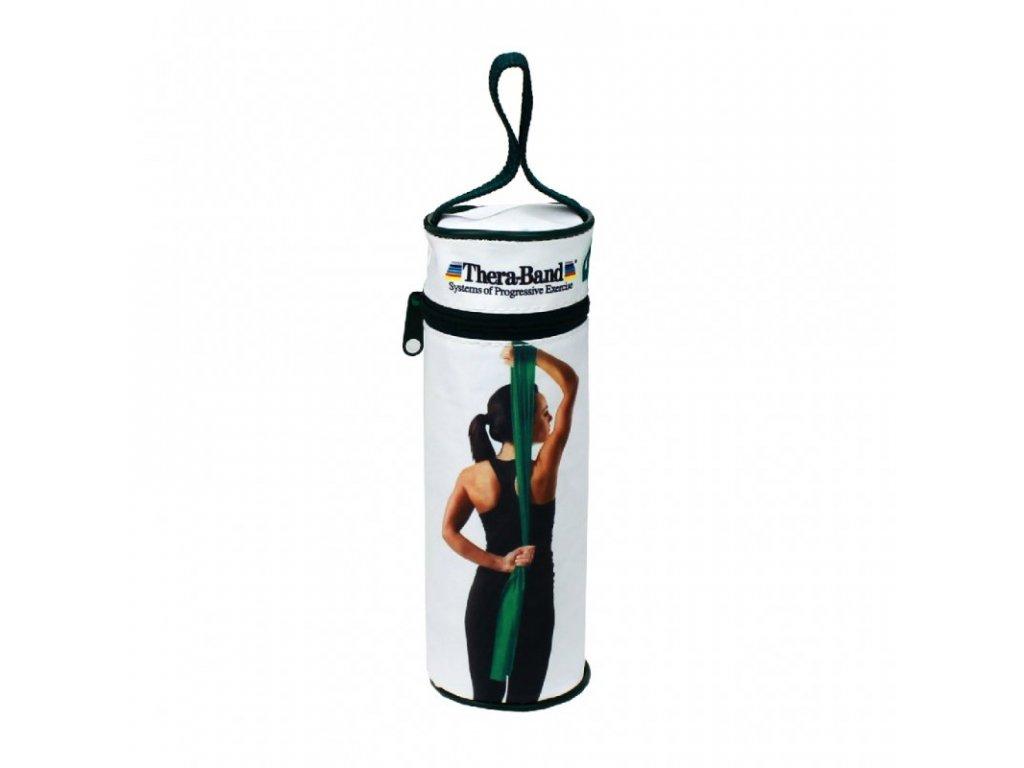 Thera-Band posilovací guma 2,5 m s obalem, zelená, silná