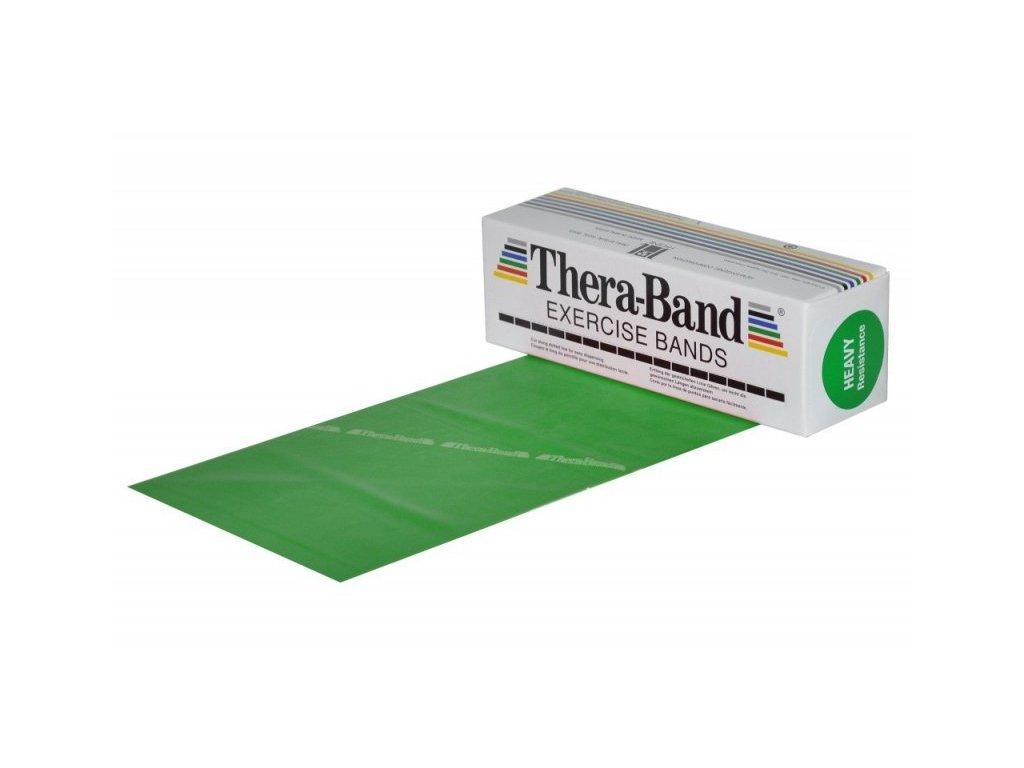 Thera-Band posilovací guma 5,5 m, zelená, silná