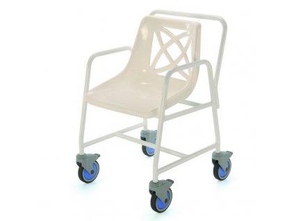 Židle do sprchy pojízdná, 4550