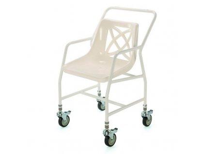 Židle do sprchy pojízdná nastavitelná, 546 BADJ