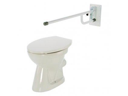 Madlo k WC sklopné komaxit, 4232