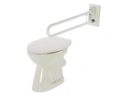 Madlo k WC sklopné komaxit, 4230