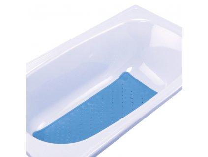 Protiskluzová podložka do vany modrá