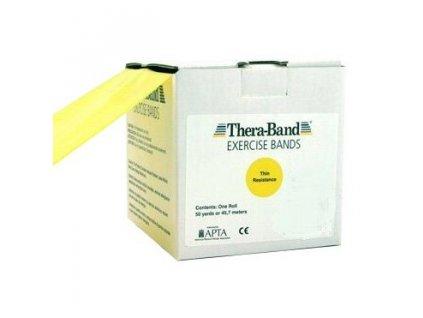 Thera-Band posilovací guma 45,5 m, žlutá, slabá