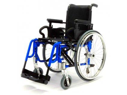 Invalidní vozík variabilní, Progeo Basic Light Plus - Blue