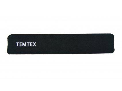 Temtex tejpovací páska - černá