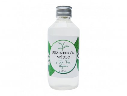 Dezinfekční tekuté mýdlo s Tea Tree olejem - 250 ml