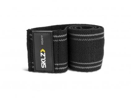 SKLZ Pro Knit Mini Band Heavy, textilní posilovací smyčka - 6,5 cm x 35 cm (silná)