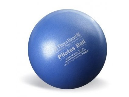 Thera-Band Overball / Pilates Ball 22 cm, modrá