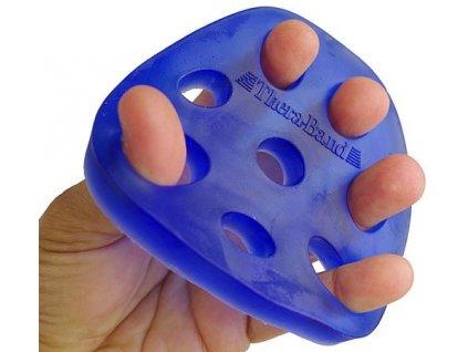 Thera-Band Hand Xtrainer - posilovač prstů a dlaně, modrý – tuhý