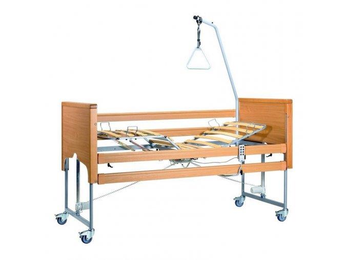 Casa Classic Light - Elektrická polohovací postel - dřevěná