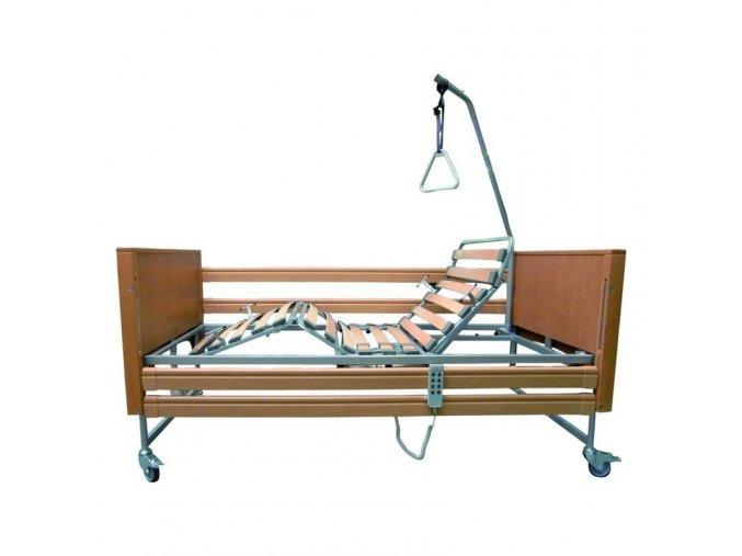 Casa Med Classic 4 - Elektrická polohovací postel - dřevěná