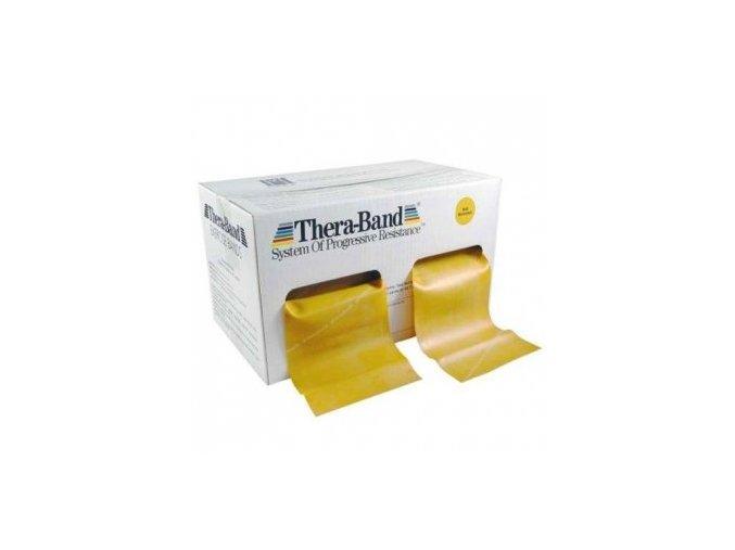 Thera-Band posilovací guma 45,5 m, zlatá, max. silná