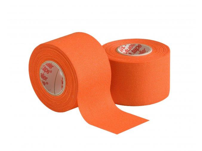 Mueller MTape® Team Colors, fixační tejpovací páska 3,8cm, oranžová