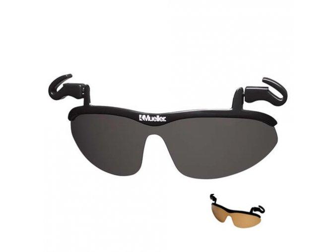 Mueller No Glare® Flip-up Sunglasses, sluneční brýle  + Dárek dle vašeho výběru