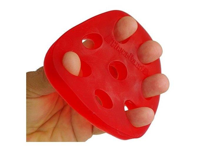 THERA-BAND Hand Xtrainer - posilovač prstů a dlaně, červený – měkký
