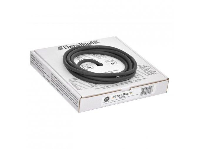 Thera-Band Tubing 7,5 m, černá, speciálně silná