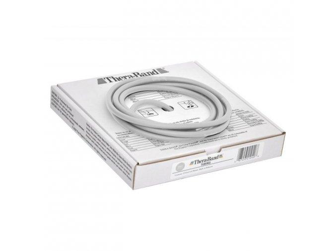 Thera-Band Tubing 7,5 m, stříbrná, super silná