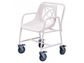 Židle do sprchy pojízdná nastavitelná, 546 B/HD