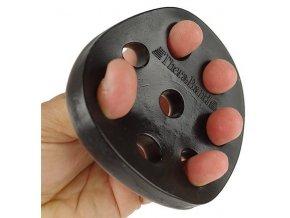 THERA-BAND Hand Xtrainer - posilovač prstů a dlaně, černý – extra tuhý