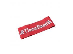 THERA-BAND Loop 7,6 x 30,5 cm, červená, středně silná