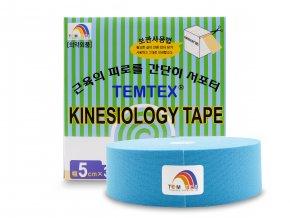 Temtex kinesio tape Classic XL, modrá tejpovací páska 5cm x 32m - EKONOMICKÉ BALENÍ  + Dárek dle vašeho výběru