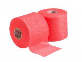 Mueller MWrap® Colored, podtejpovací molitanová páska červená 7cm x 27,4m