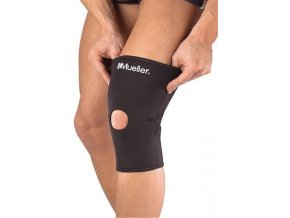 MUELLER Knee Sleeve Neoprene Blend Open Patella, bandáž na koleno