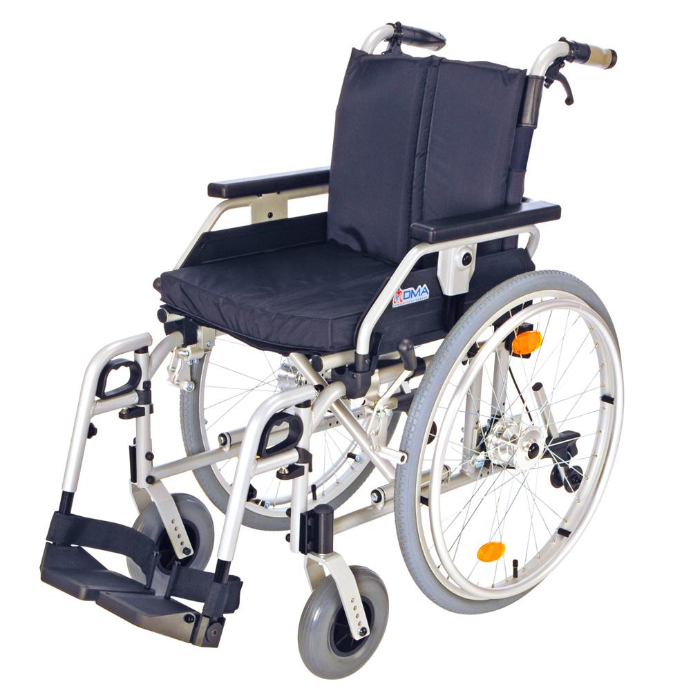 Invalidní vozík s brzdami, 318-23 Šířka sedu: 40 cm