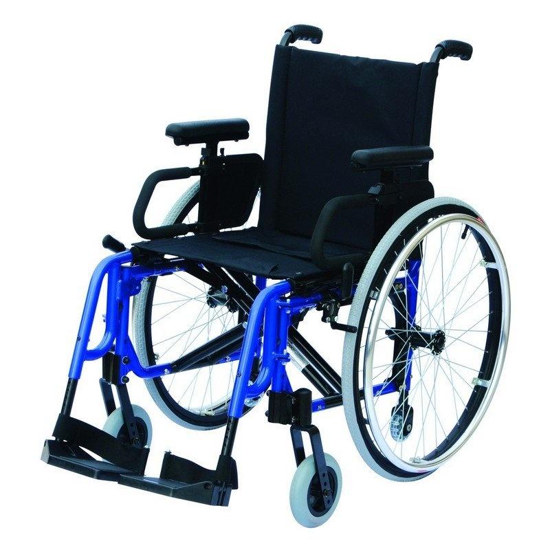 Invalidní vozík variabilní, Basic Light Classic Šířka sedu: 39 cm