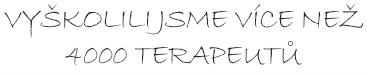 Vyškolili jsme více jak 4000 terapeutů