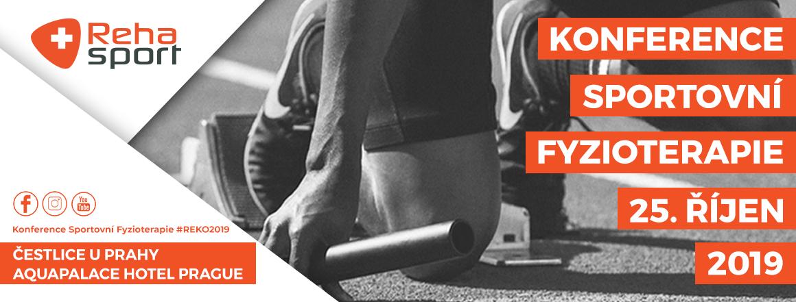 Rehasport Konference sportovní fyzioterapie